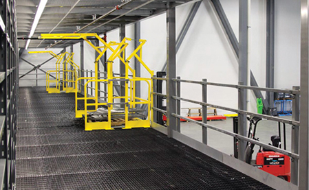 Cogan Modular Structural Mezzanines - Racked Out Inc