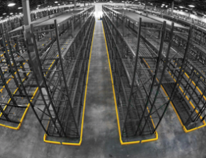 rack protection - floor angle guides